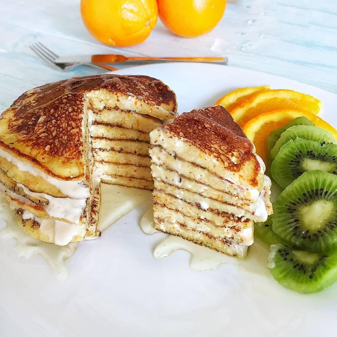 Apelsīnu pankūkas