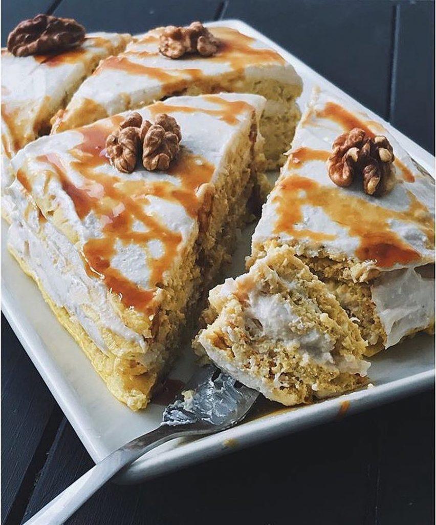 Auzu pankūku auzu torte