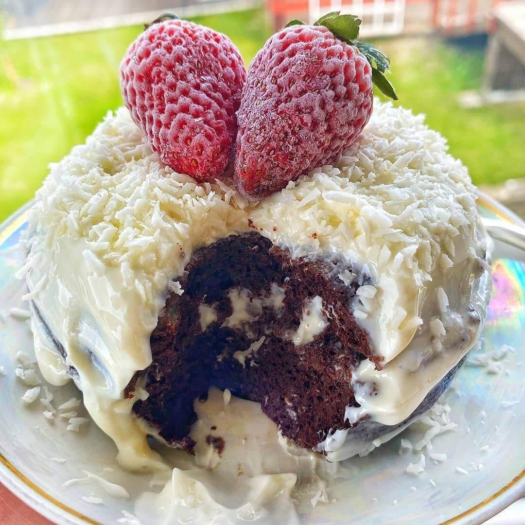 Bez miltu kūka 5 minūtēs