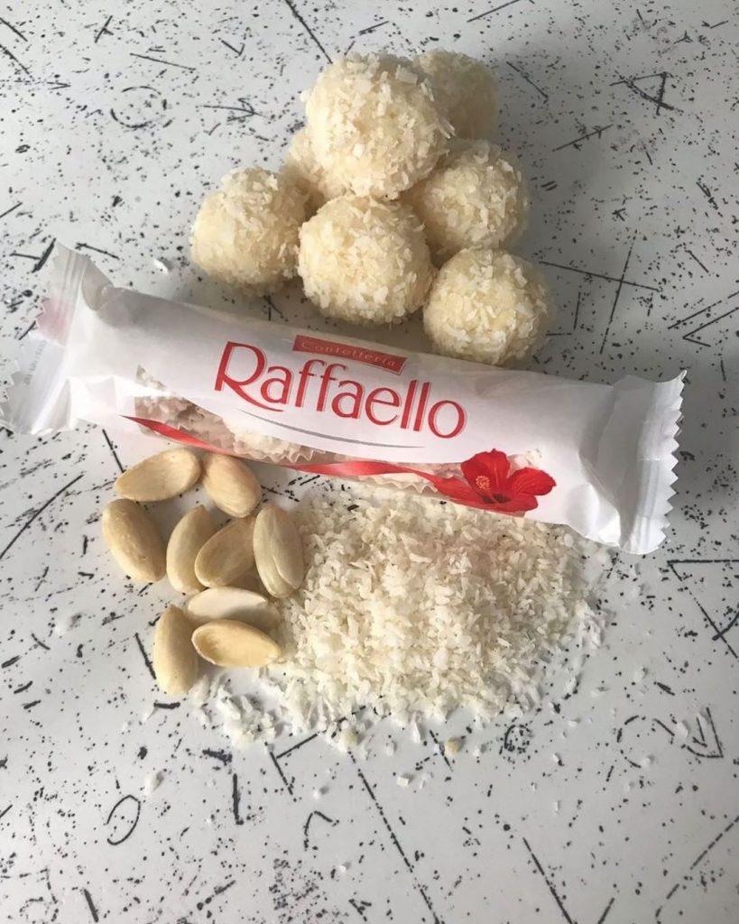 Bez grēka Rafaello konfektes
