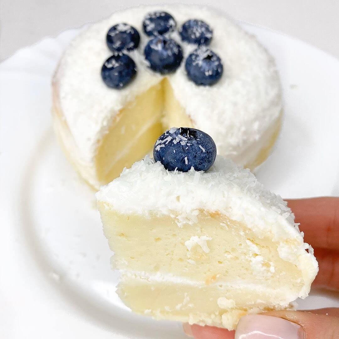 Biezpiena siera kūka 15 minūtēs