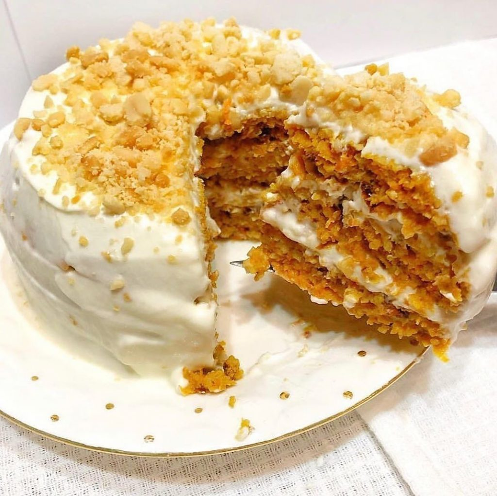 Burkānu tortes veselīgā variācija