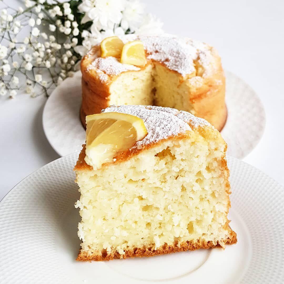 Citronu mannas kekss