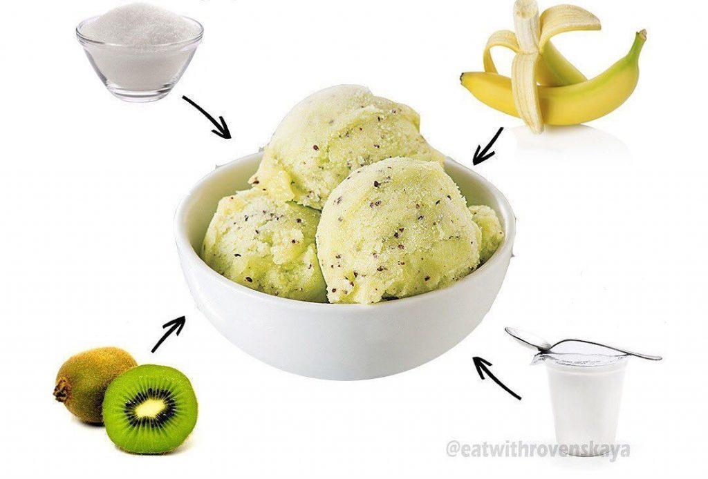 Mājās gatavots zema tauku sartura saldējums