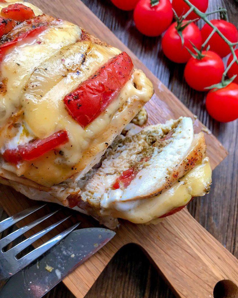 Garšīgā vistas filejas rulete Garmoška