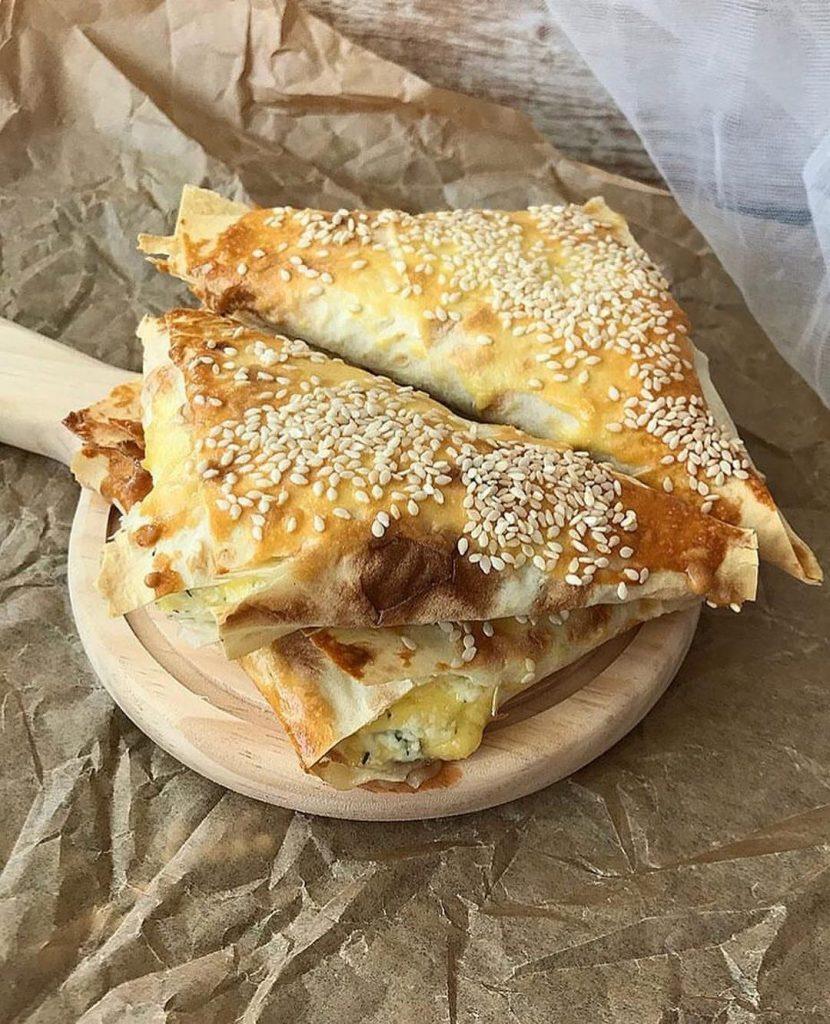 Kabatiņas ar siera-biezpiena pildījumu