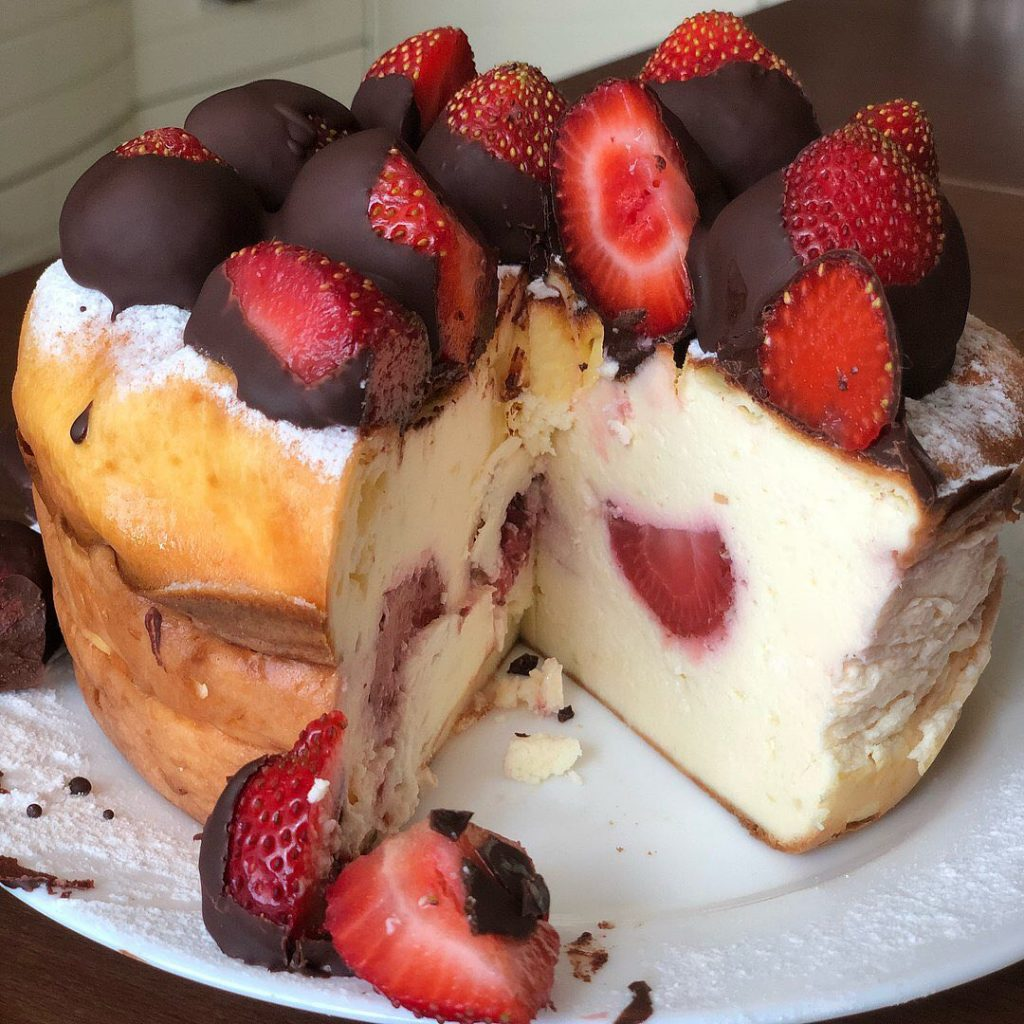 Kaloriju skaitītāju gardais biezpiena sacepums