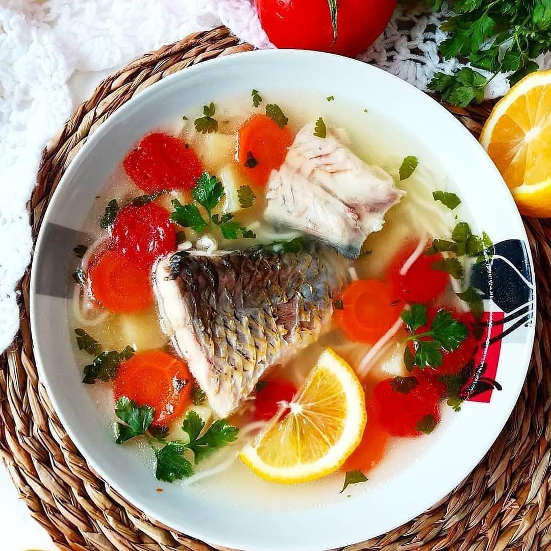 Karpas zivs zupa