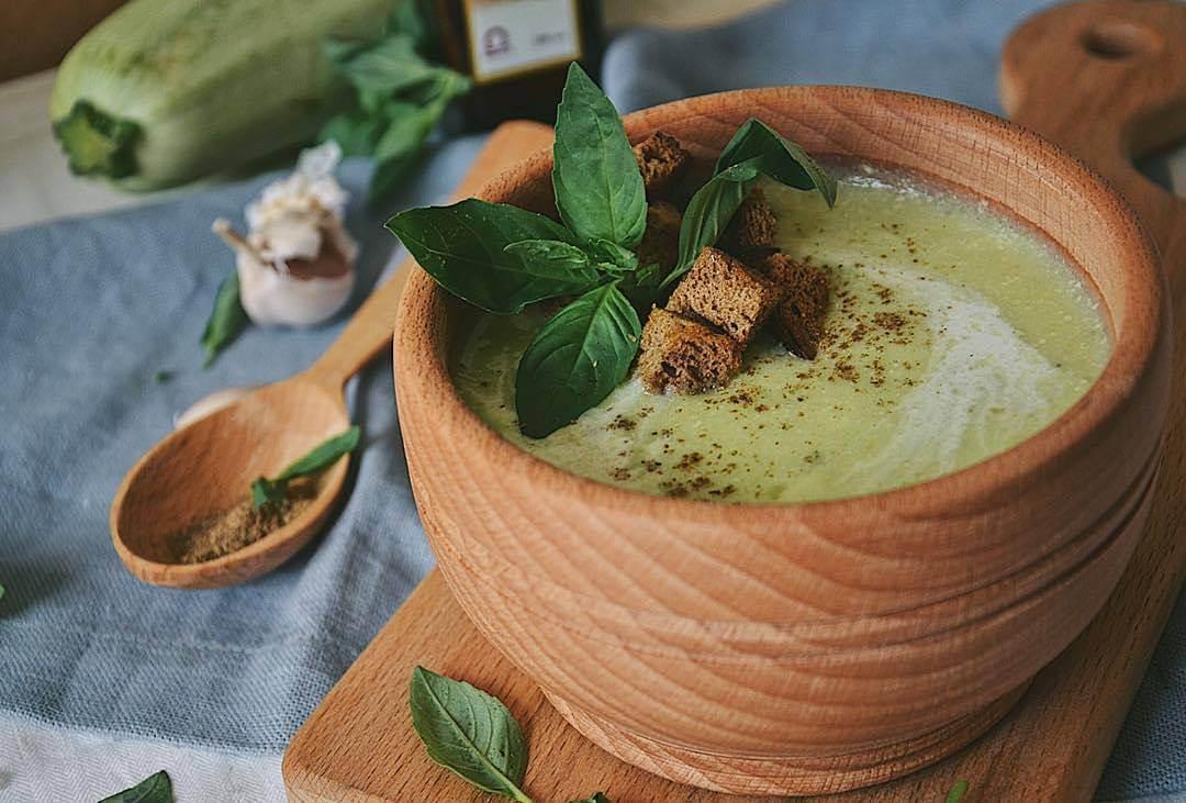 Kabaču brokoļu biezzupa