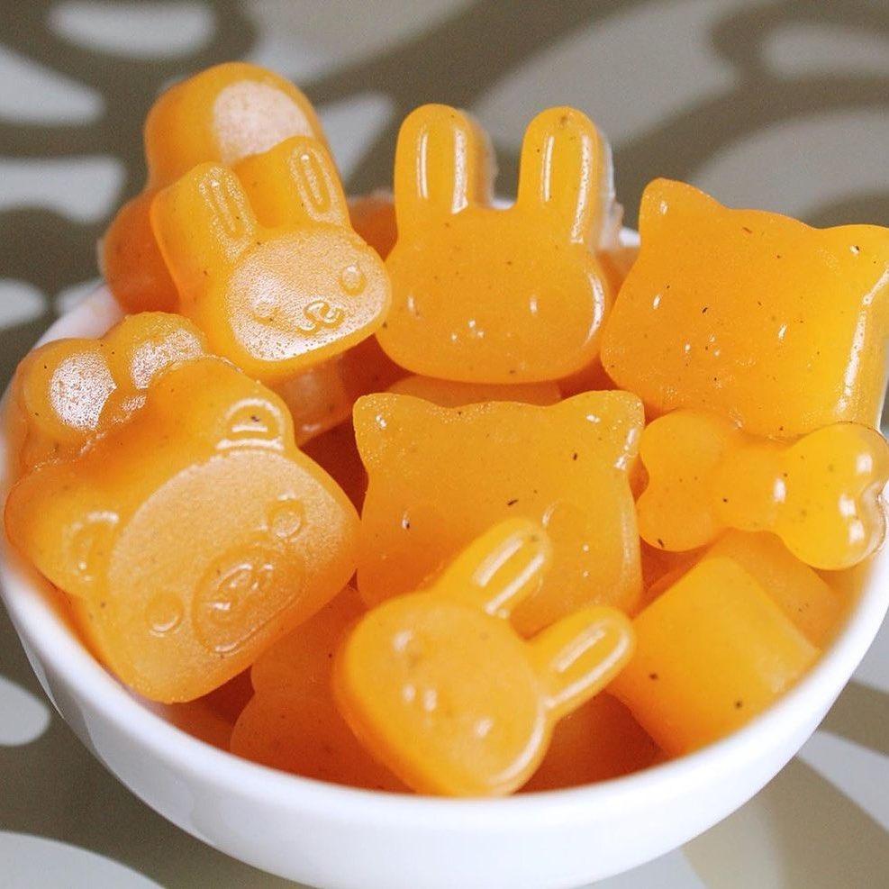 Ķirbju marmelādes konfektes