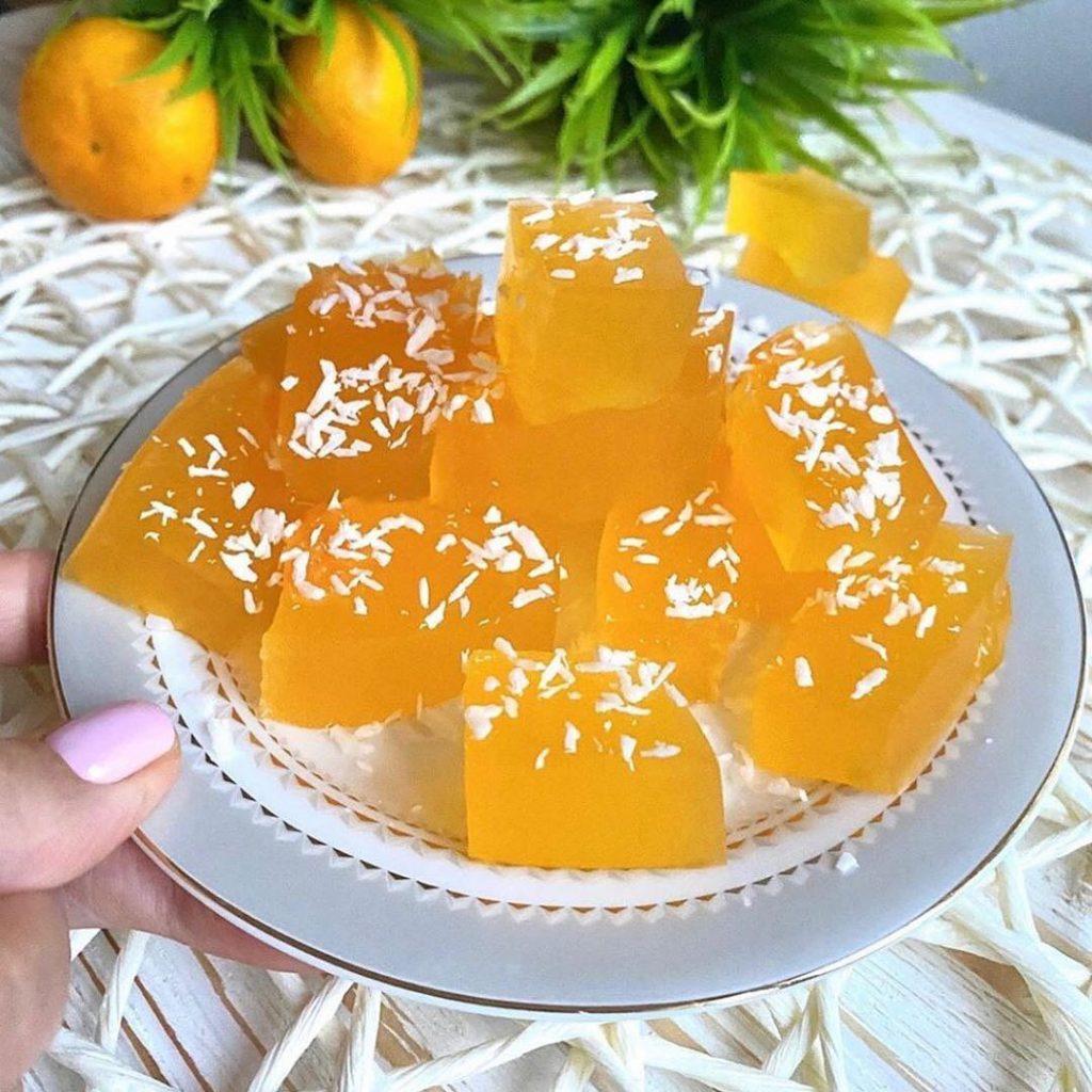 Mandarīnu marmelāde