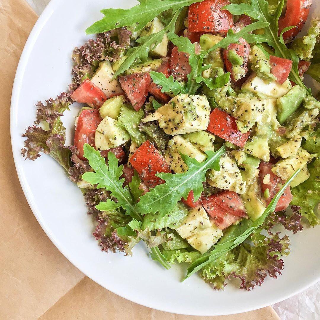 Millēniaļu salāti ar avokādo