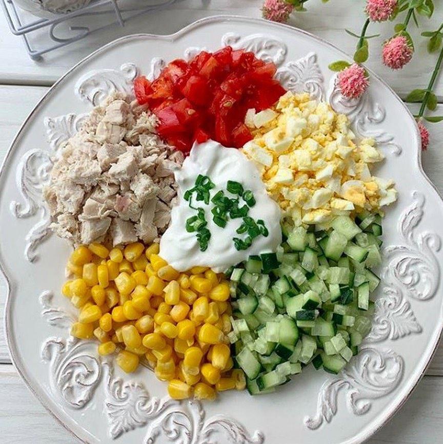 Olbaltumvielu bagātie salāti
