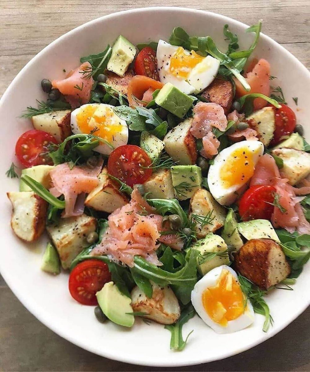 Sabalansēti un sātīgi salāti
