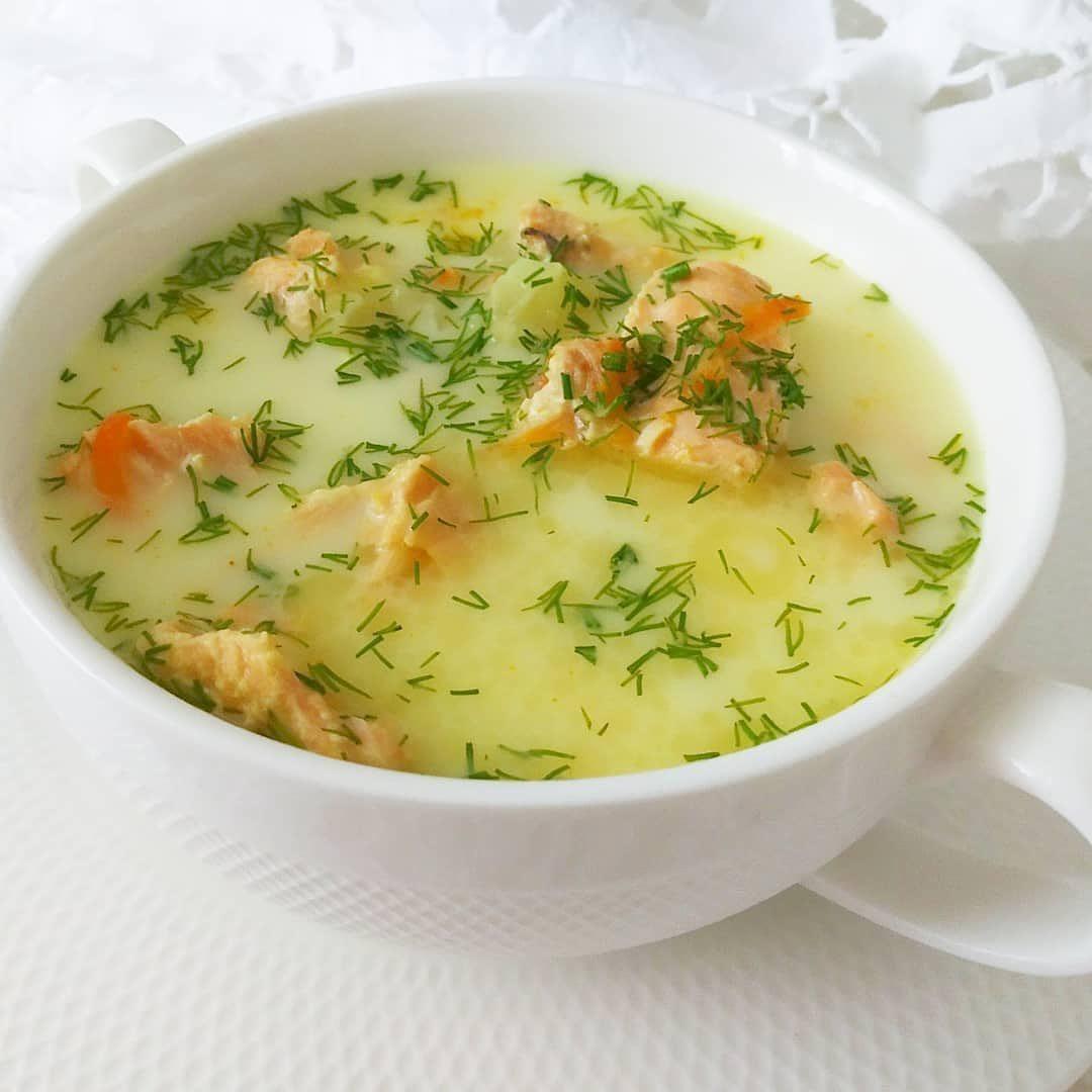 Saldā krējuma zivju zupa