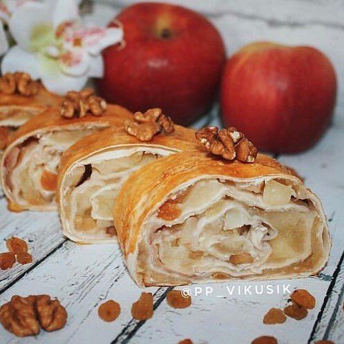 Slinkā ābolu strūdele