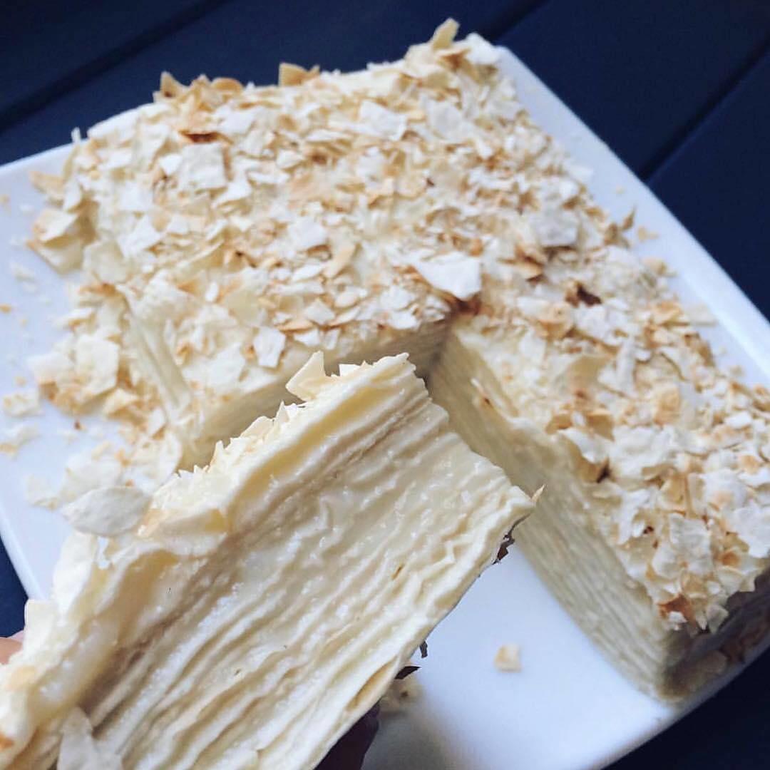 Šodien diēta tādēļ ēdīsim mazkaloriju Napaleona kūku