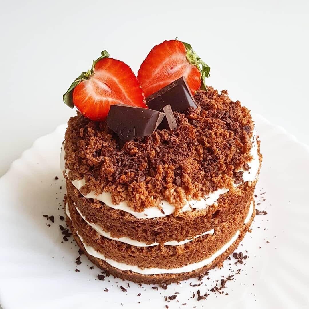 SUper ātri pagatavojama bez miltu, bez cukura šokolādes-kafijas kūciņa