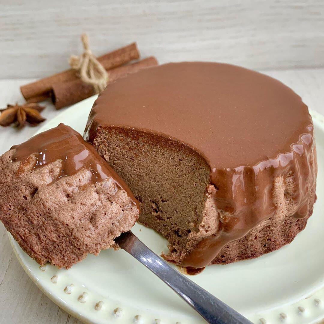 Šokolādes pudiņa kūka