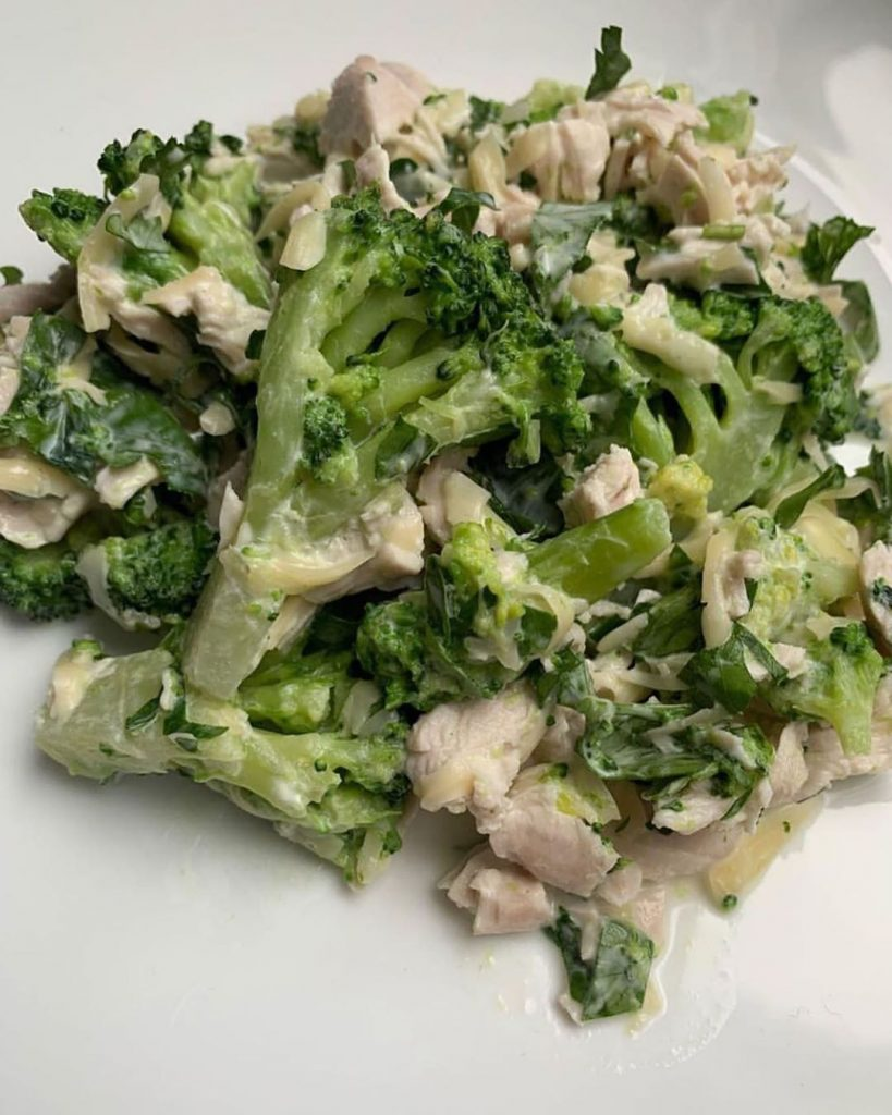 Tītara fileja ar brokoļiem