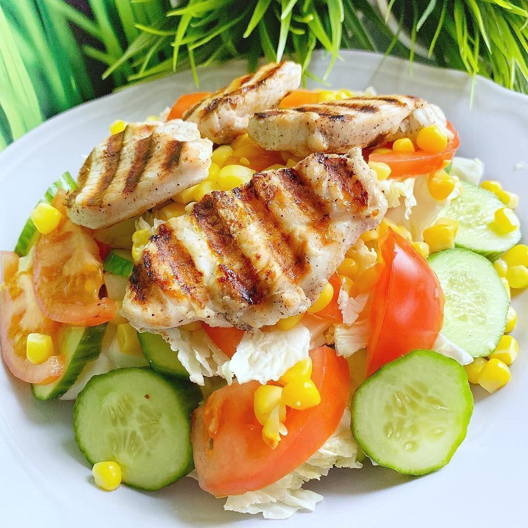 Vēl viena vieglu salātu recepte