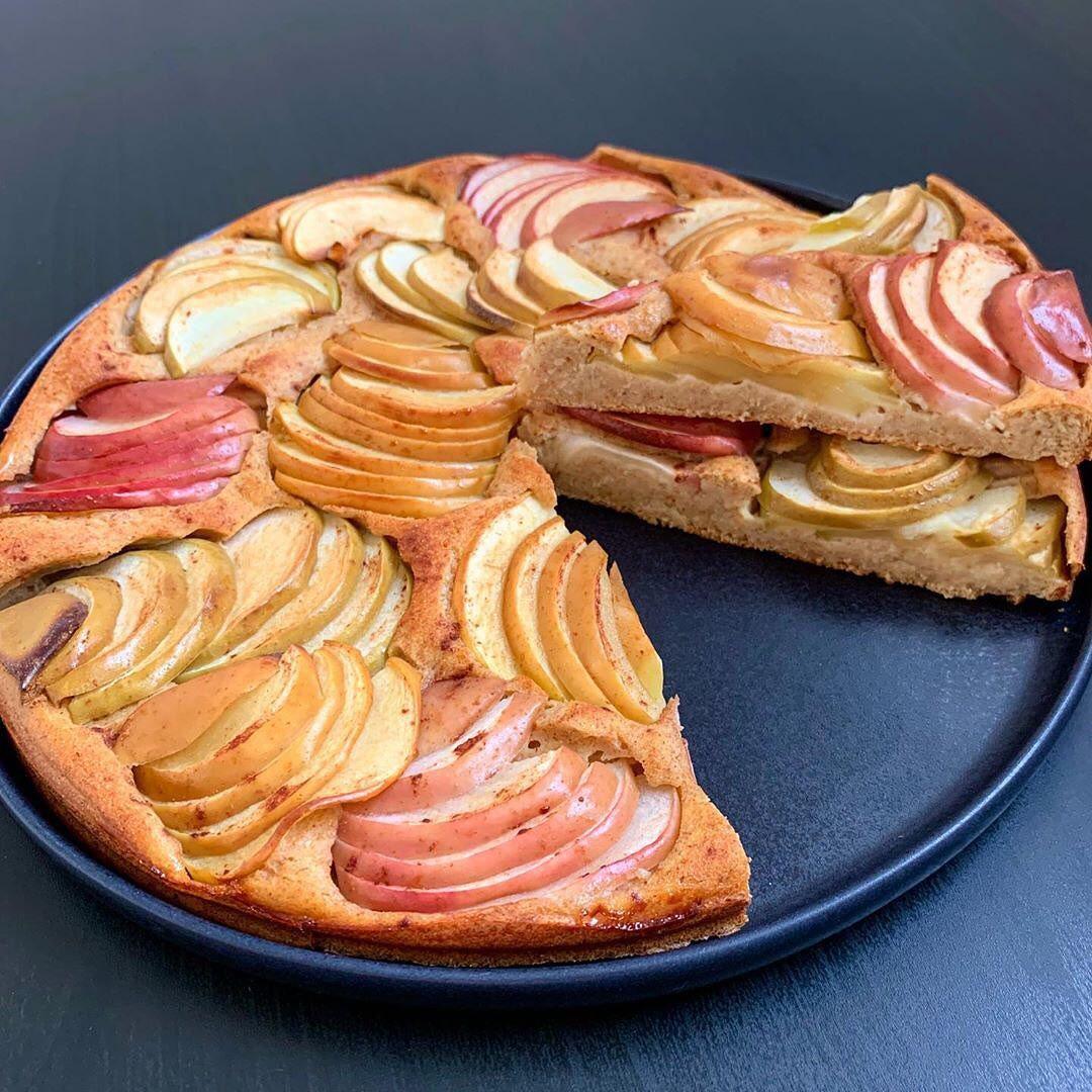 Viss ātrāk viess vieglāk pagatavojamais mazkaloriju ābolu pīrāgs