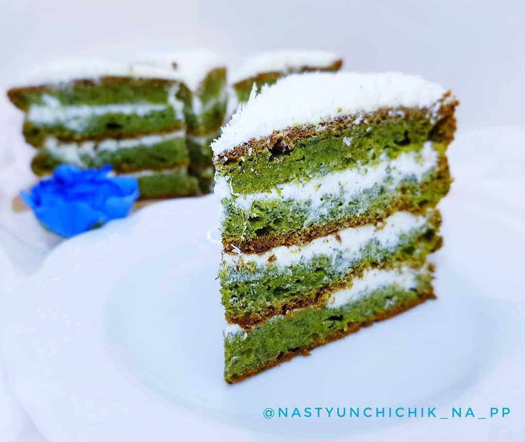 Zaļā torte ar spinātiem