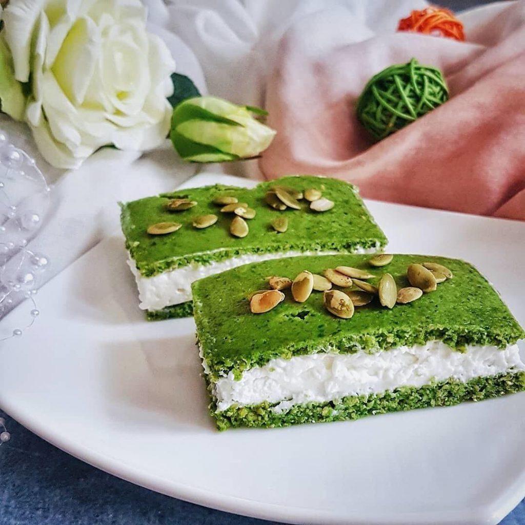 Zaļās spinātu kūciņas